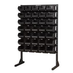 Stojak na kuwety L - kolor czarny