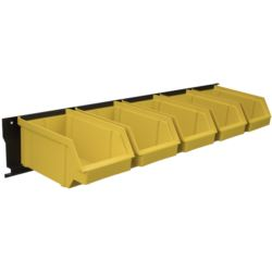 Listwa + kuwety 5xL żółte / BAR+5L-Y