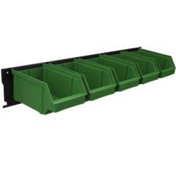 Listwa + kuwety 5xL zielone / BAR+5L-G