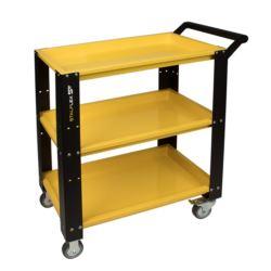 Wózek warsztatowy,3 półki-żółty