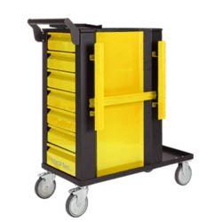 Wózek spawalniczy TIG -7 szuflad, żółty