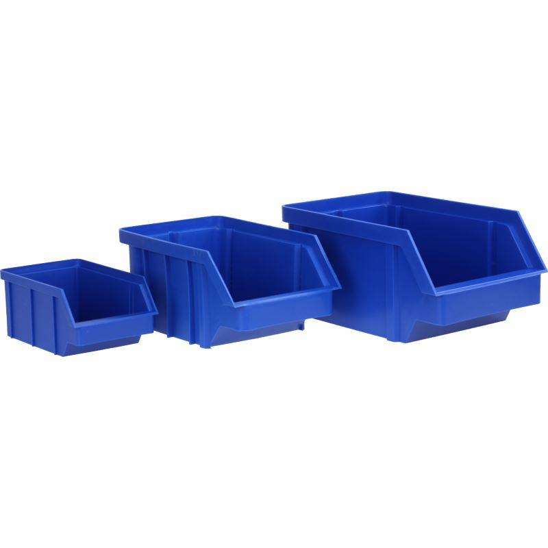 Pojemnik magazynowy średni (niebieski) / BIN-M-B