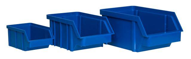 Pojemnik magazynowy duży (niebieski) / BIN-L-B