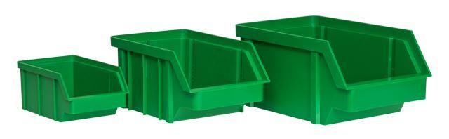 Pojemnik magazynowy duży (zielony) / BIN-L-G