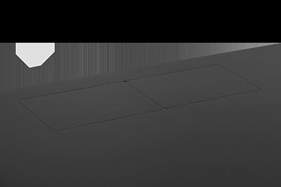 "Server cabinet 19"" 9U 600mm, Glass-Blac, BASIC"